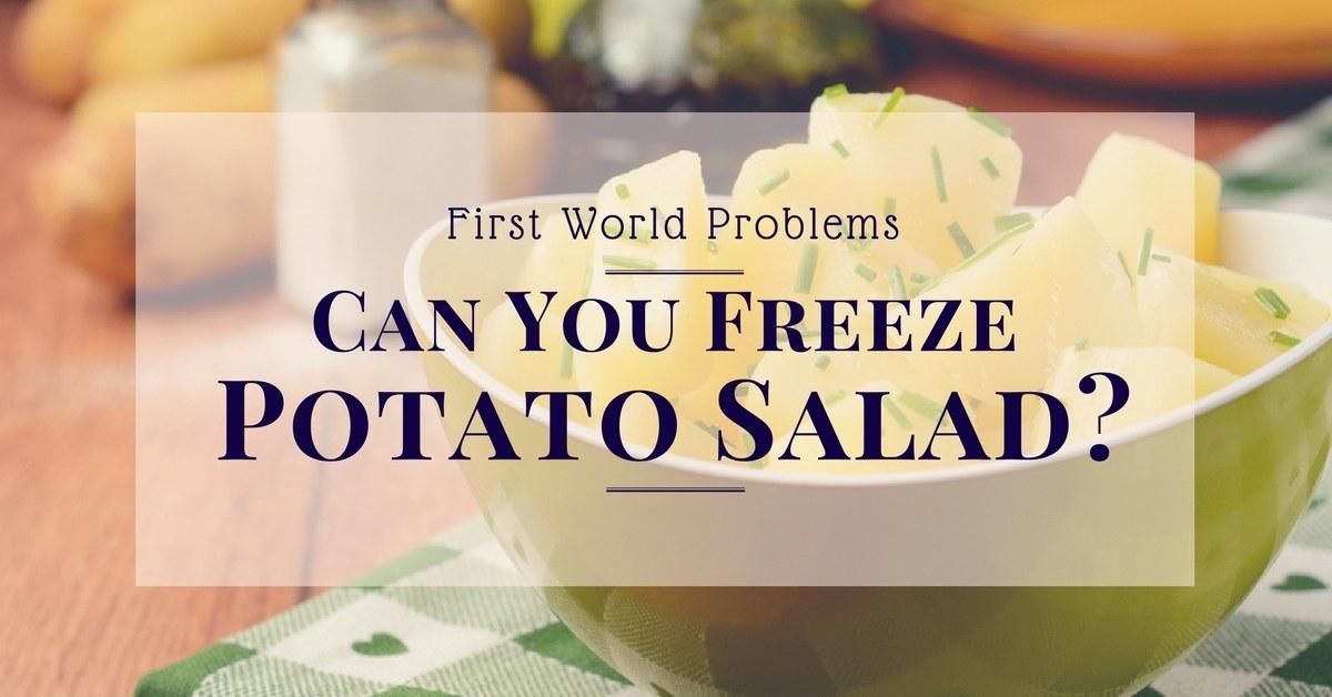 can-you-freeze-potato-salad